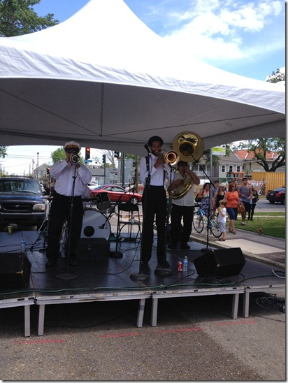 brass band freret